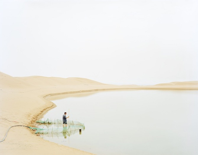 The Yellow River Surging Northward Rumblingly by Zhang Kechun on thisispaper.com