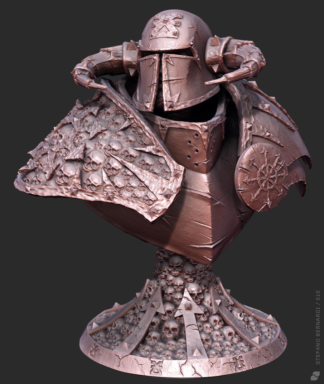 Chaos Warrior Bust