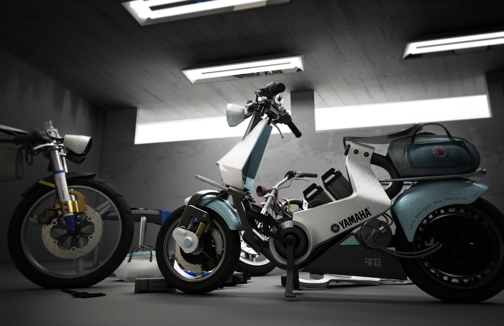 Yamaha Open Source Electric Motorcycle Chan Sik Park